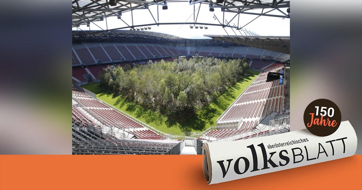 Projekt For Forest Im Klagenfurter Stadion Geht Zu Ende
