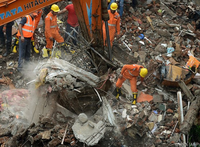 Hauseinsturz in Mumbai: Mindestens sieben Tote