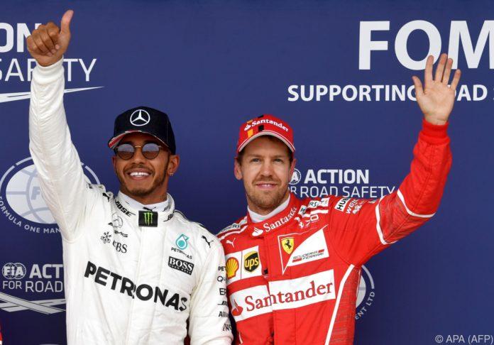 Formel 1: Hamilton fährt Vettel im ersten Monza-Training davon