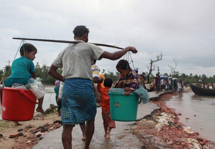 Rohingya-Rebellen in Myanmar riefen Waffenstillstand aus