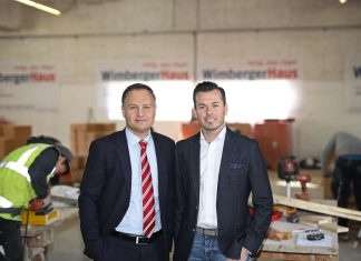 V. l.: Die beiden Wimberger-Geschäftsführer Norbert Königsecker und Christian Wimberger