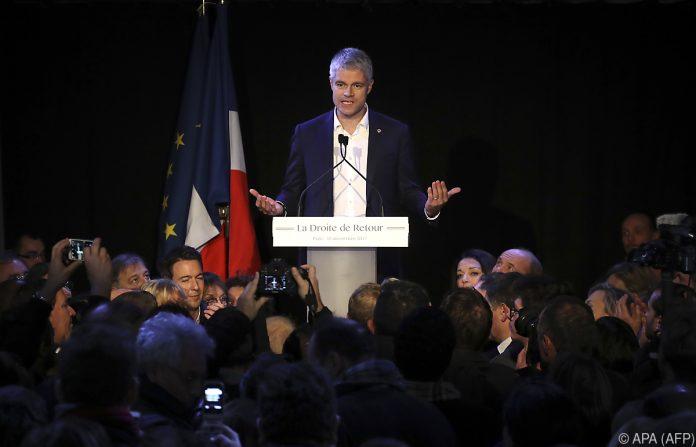 Laurent Wauquiez ist neuer Parteichef der Republikaner