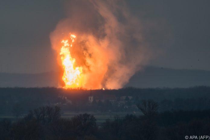 Explosion in Gasverteilstation: Leitungen wieder in Betrieb