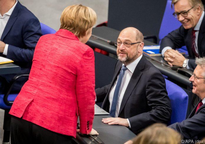 Merkel will mit SPD nur über erneute große Koalition verhandeln