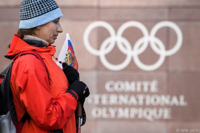 Russische Sportler nehmen an Winterspielen in Südkorea teil