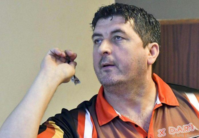 Mensur Suljovic souverän in zweiter Runde bei Darts-WM