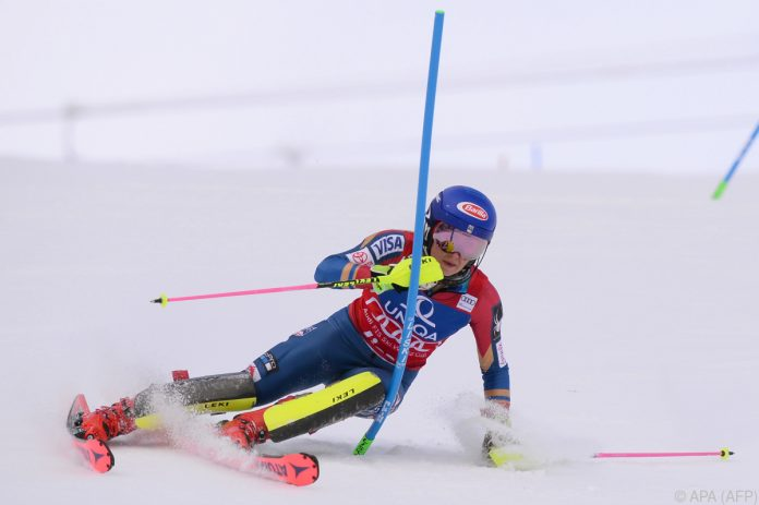 Shiffrin dominiert 1. Slalom-Durchgang von Lienz
