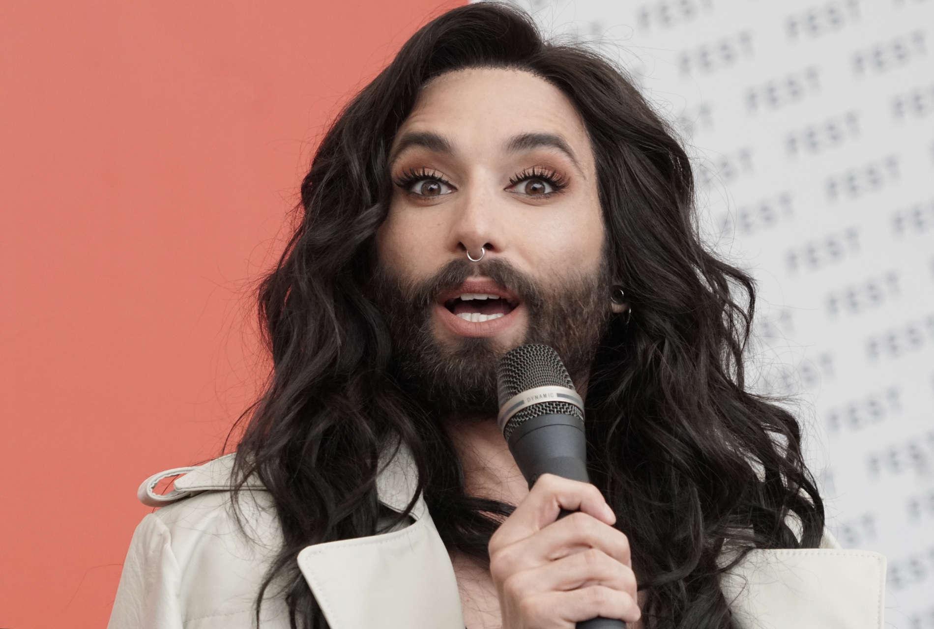 Conchita, die sich früher Wurst nannte.