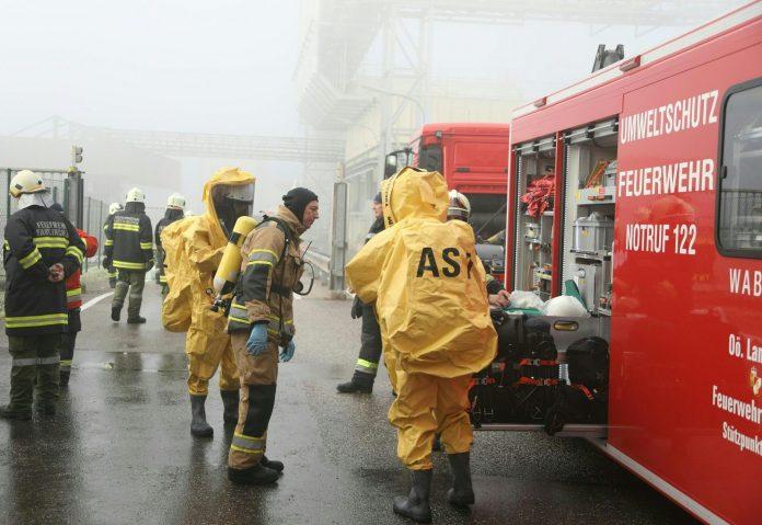 Säureaustritt bei Agrana in Oberösterreich mit 40 Verletzten
