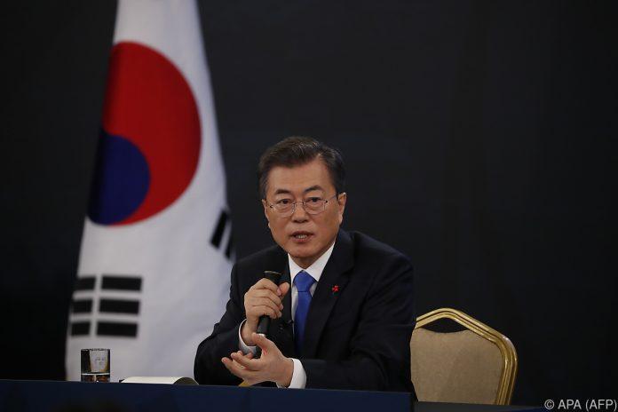 Präsident Moon Jae In bereit zu Begegnung mit Kim Jong Un
