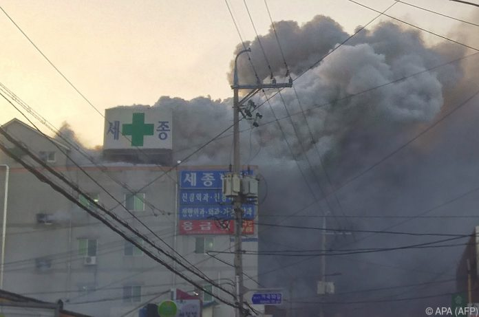 Dutzende Tote bei Brand in Krankenhaus in Südkorea