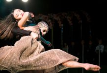 Das Ensemble Tanzlinz zauberte mit der Sprache seiner Körper fantastische Bilder.