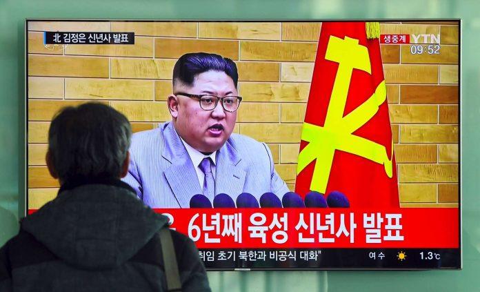 Neujahrsbotschaft: Kim Jong-un droht mit Atomwaffenangriff