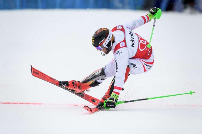 Auch in Wengen will Marcel Hirscher endlich als Erster über die Ziellinie kommen.