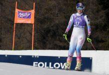 """Im Vorjahr wurde Lindsey Vonn von """"ihrer"""" Tofana abgeworfen, musste nach einem Sturz aufrecht ins Ziel fahren. Heuer will sie Sieg Nummer zwölf in Cortina nachholen."""