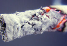 Zigarettenglut - tip of a cigaret