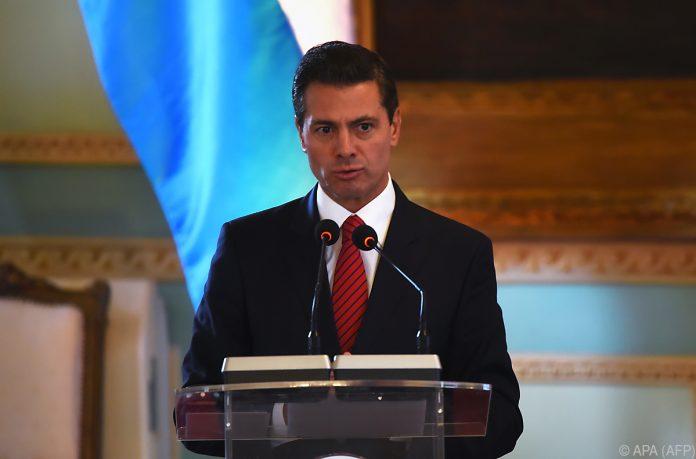 Trumps Telefonat mit Mexikos Präsidenten endet im Eklat