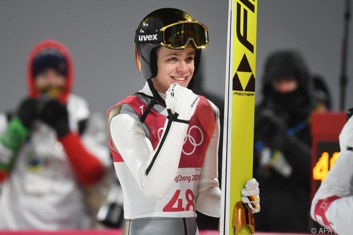 Skispringer Wellinger holt Gold bei Olympia