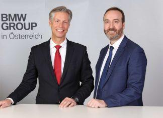 Christoph Schröder (l.) leitet die Geschicke des BMW-Motorenwerks in Steyr, Christian Morawa zeigt für BMW Österreich verantwortlich. Beide sind erst seit wenigen Monaten in ihrer jeweiligen Position.