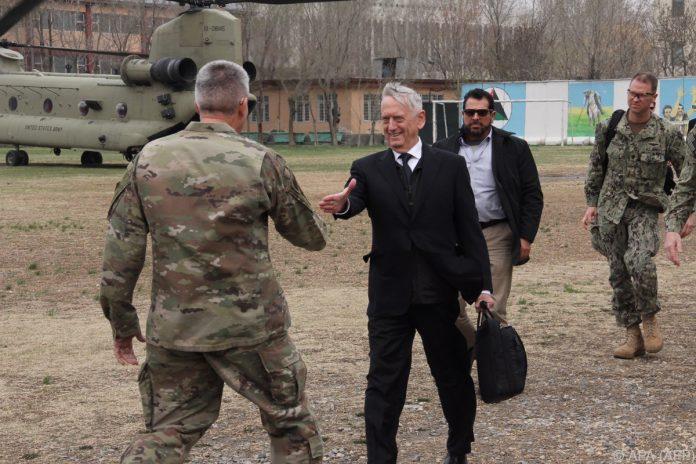 US-Verteidigungsminister Mattis überraschend in Kabul