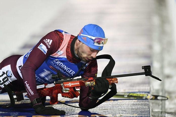 Russe Schipulin trumpft im Biathlon-Sprint auf