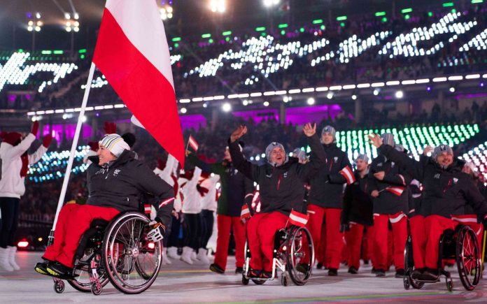 Google feiert es mit Doodle Die Paralympics 2018 beginnen heute in Südkorea