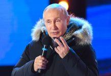 Nach dem Wahltriumph rüstet Putin rhetorisch und militärisch ab.