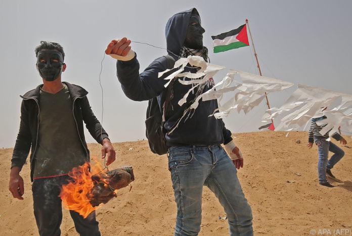 Zwei Männer bei Protesten im Gazastreifen getötet