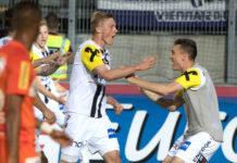 Thomas Goiginger (M.) erlöste den LASK gegen die Austria mit einer entfesselten Einzelleistung in Minute 87.