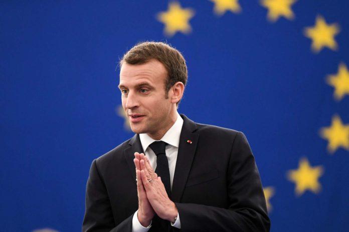 """Emmanuel Macron im Europarlament: """"Illiberale Faszination wird von Tag zu Tag größer."""""""