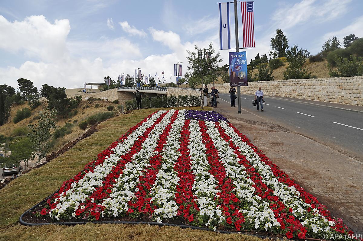 Vor Eröffnung von US-Botschaft: Israel feiert Jerusalem-Tag