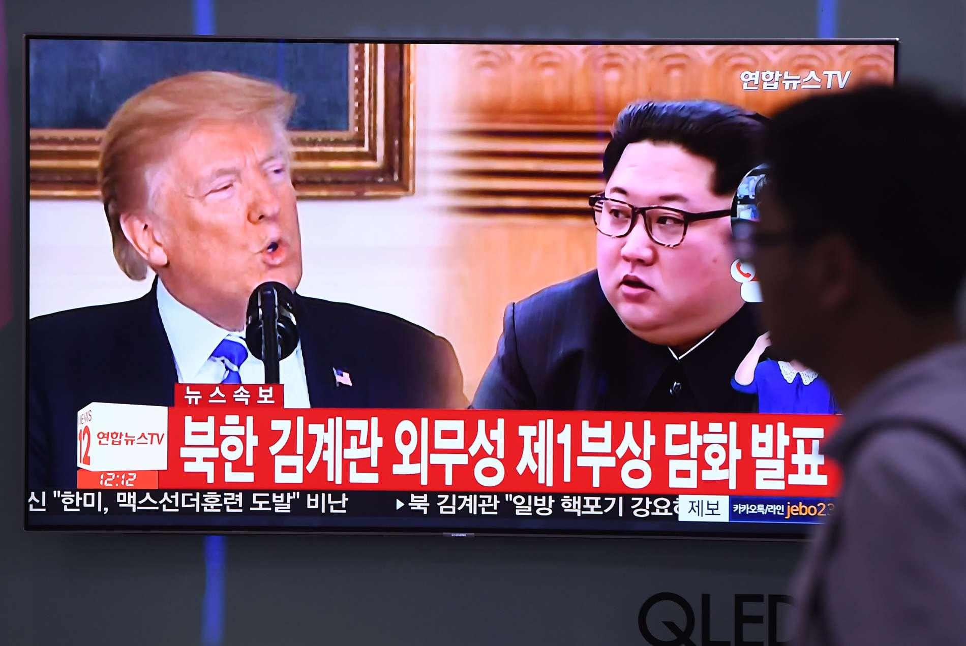 Aus der Traum vom schnellen Atomdeal mit Kim: Nordkoreas Diktator lässt US-Präsidenten Trump zappeln.