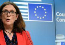 EU-Handelskommissarin wird im Juni für konkrete Gespräche nach Australien fliegen.