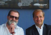 Festival-Kurator Peter Androsch und Brucknerhaus-Chef Dietmar Kerschbaum.