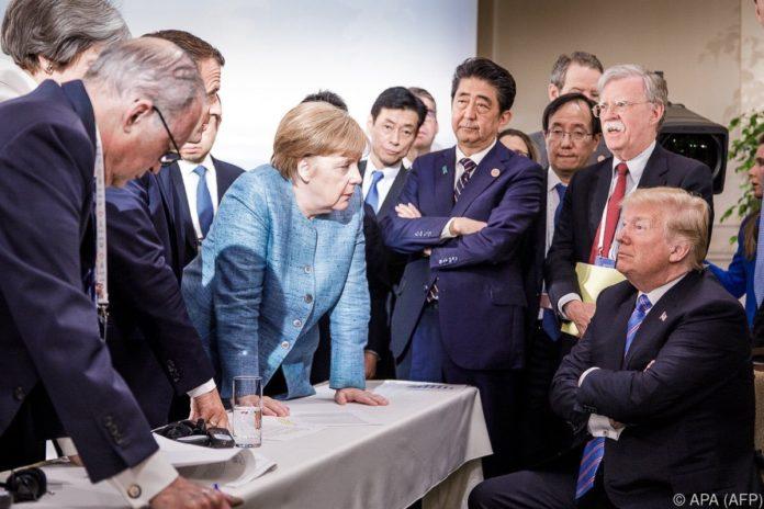 Trotz tiefer Differenzen: G7 einigt sich auf Gipfelerklärung