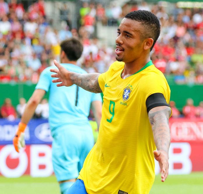 Gabriel Jesus (im Bild beim Länderspiel am Sonntag in Wien) und seine brasilianischen Teamkollegen würden für einen WM-Titel am besten entlohnt.