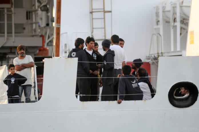 Mittelmeer: Deutschland sagt Italien Aufnahme von 50 Flüchtlingen zu