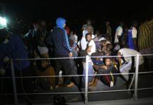 Diese Migranten wurden nach der Rettung nicht nach Italien, sondern zurück nach Libyen gebracht.