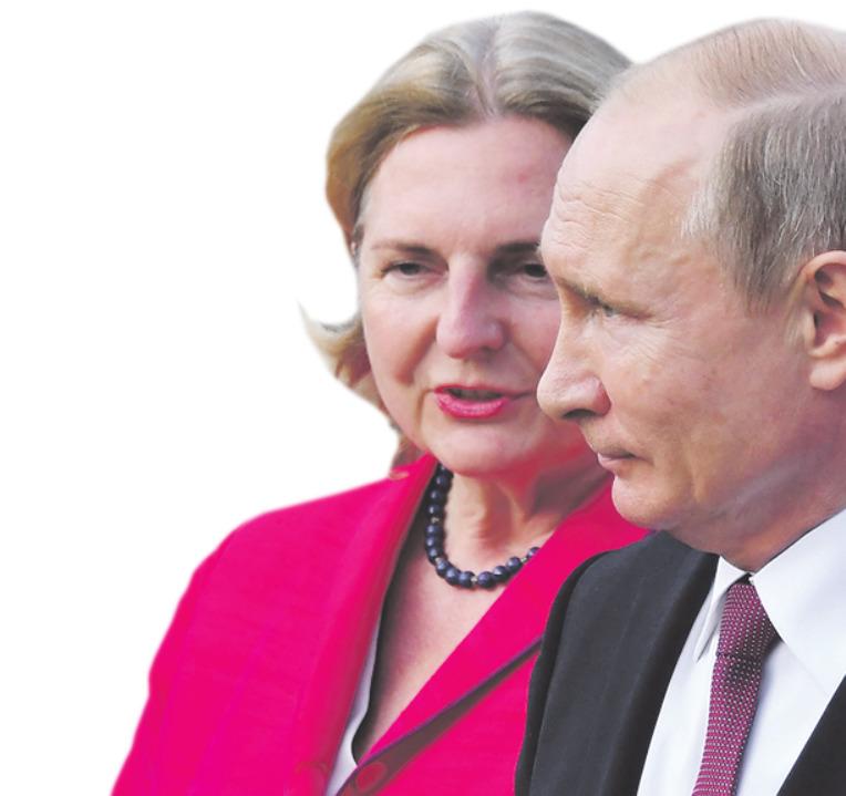 Kneissls Hochzeitsgast aus dem Kreml bedeutet für die steirischen Sicherheitskräfte einen Großeinsatz.