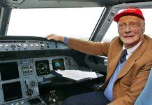 Luftfahrtunternehmer Niki Lauda bekam im Wiener AKH eine neue Lunge.