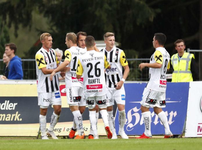 Der LASK jubelte in Hartberg über den dritten Ligaerfolg und den vierten Pflichtspielsieg in Folge.