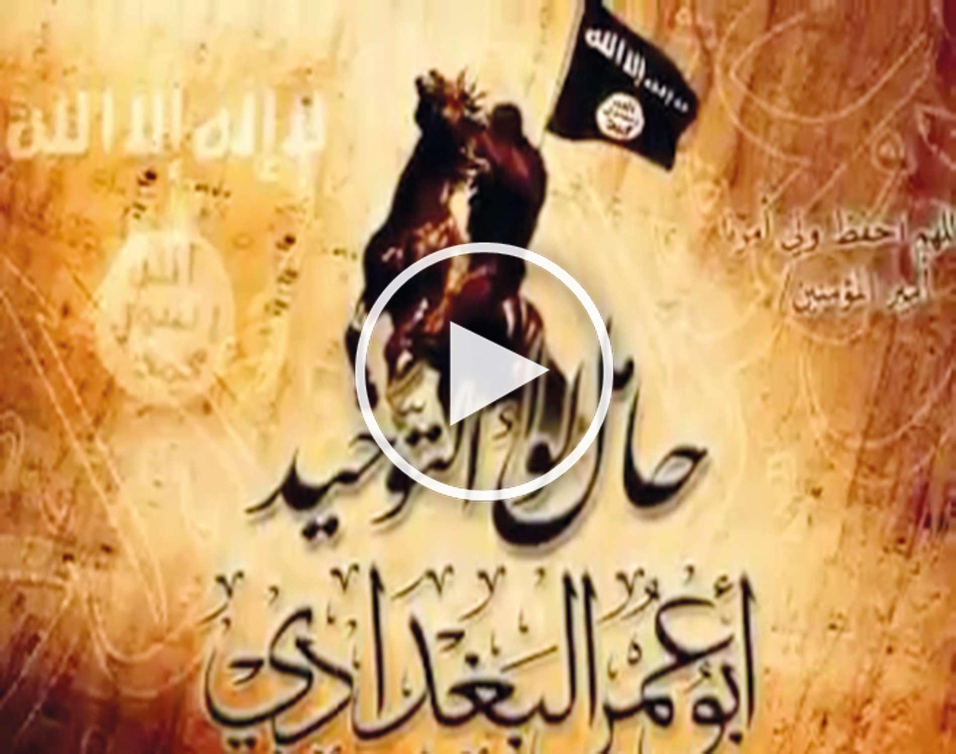 Das Dschihad-Video zeigt nicht gerade friedliche Szenen.