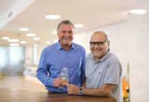 V. l.: Die beiden Geschäftsführer Rudolf und Erich Wagner.
