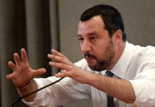 """Fasst """"Populist"""" als Kompliment auf und hat """"die Vision eines anderen, freieren Europas"""": Italiens Innenminister Matteo Salvini (45) von der rechtsgerichteten Partei """"Lega""""."""