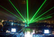 Alle Jahre wieder verwandelt die Klangwolke das Linzer Donauufer in eine spektakuläre Bühne.