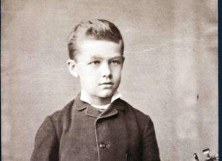 Lehár im Alter von zwölf Jahren.