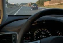 Mit Tempo 159 auf der Westautobahn zwischen Haid und Sattledt unterwegs.
