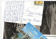 """Auf die """"archaische"""" Kommunikationsform der Postkarte greifen die Österreicherinnen Astrid Dober und Ilona Stuetz in ihrer interaktiven Arbeit zurück."""