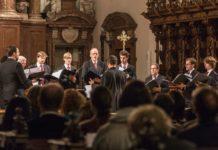 Choralschola der Hofburgkapelle zu Gast in Linz.