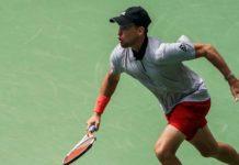 Dominic Thiem stürmte in sein erstes Viertelfinale bei den US Open.